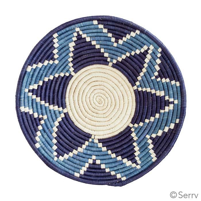 Blue Burst Basket