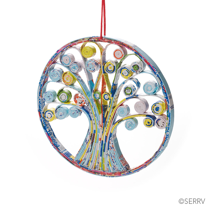 Quilled Tree of Life Ornament