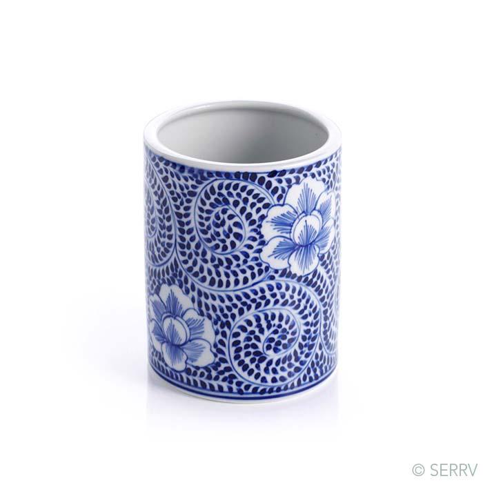 Blue Meadow Small Utensil Holder - Vase