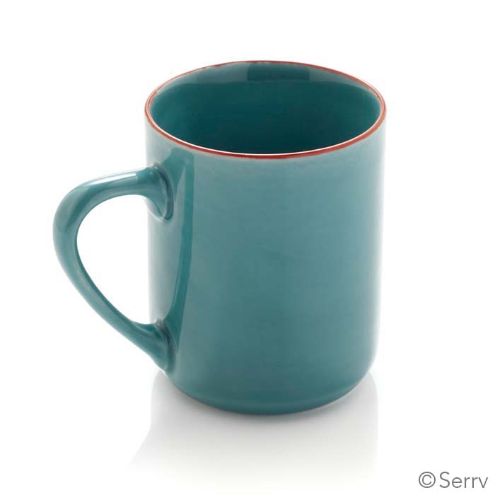Turquoise Song Cai Medium Mug