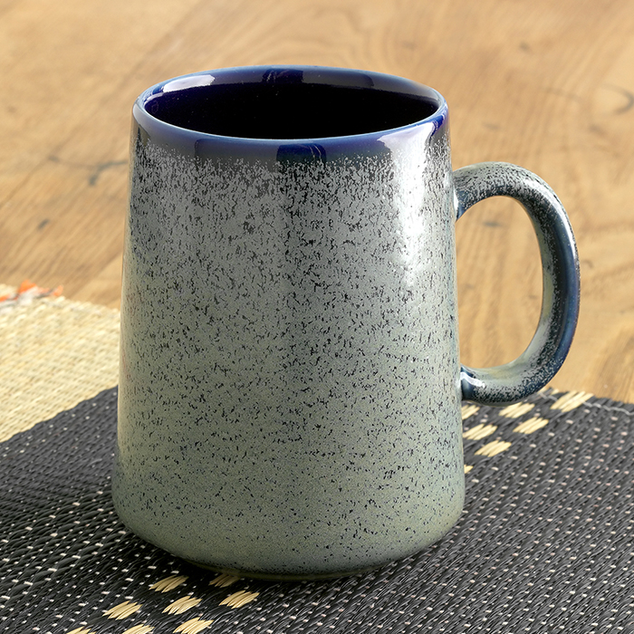 Tall Farmhouse Mug - Speckled Sage