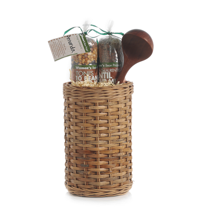 Soup & Spoon Gift Basket