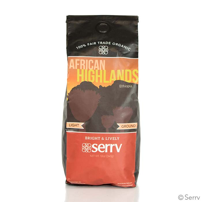 African Highlands Light Coffee