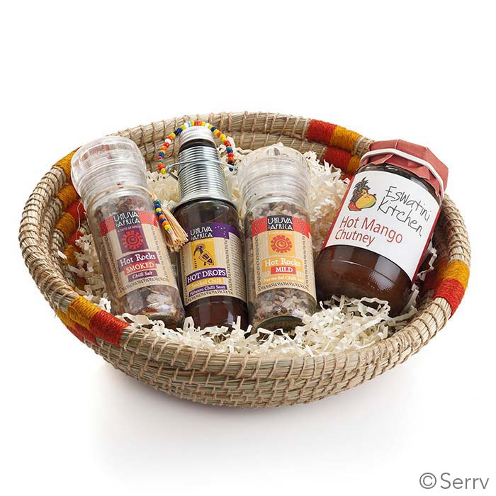 Spicy Favorites Gift Basket