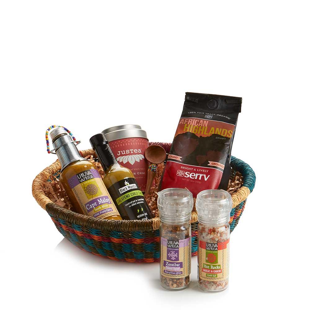 African Gourmet Gift Basket