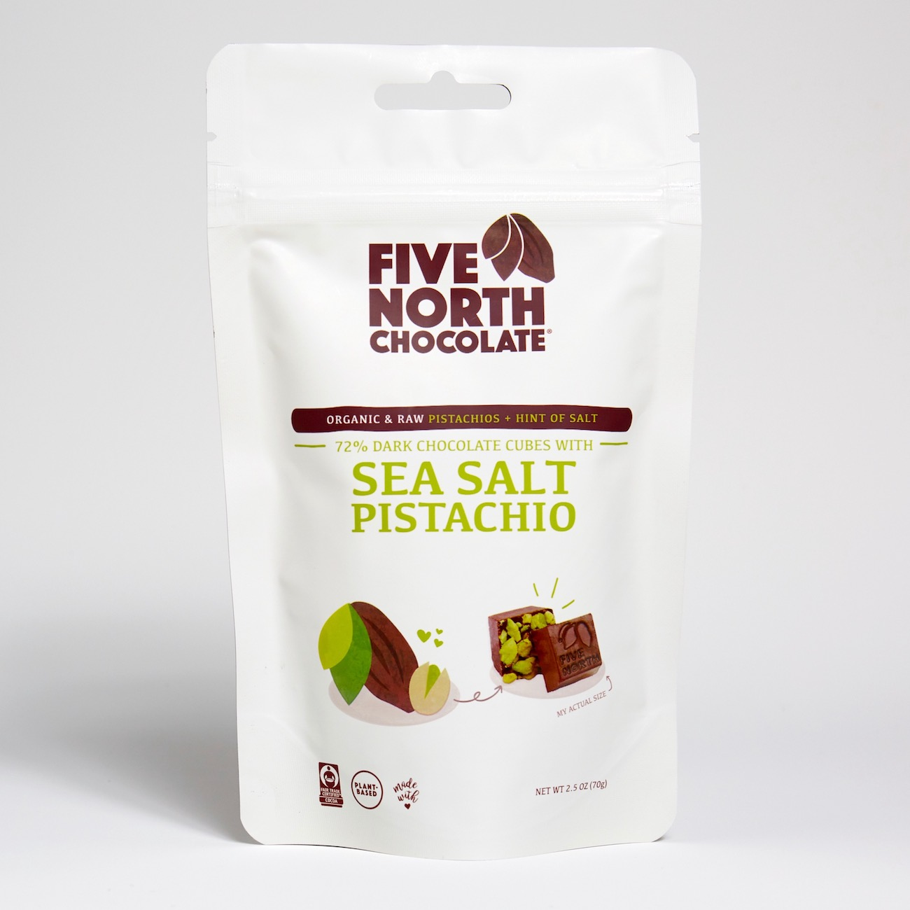 Pistachio Sea Salt Chocolates