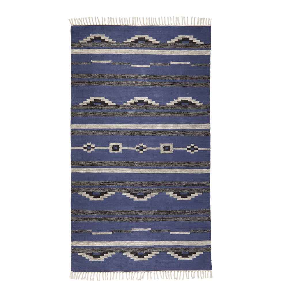 Blue & Gray Kilim Rugs