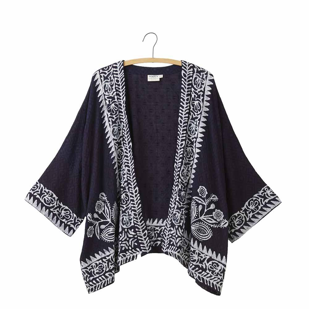 Indigo Batik Jacket