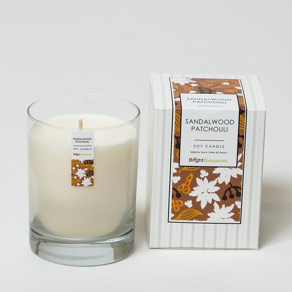 Sandalwood Patchouli Candles