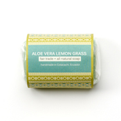 Lemon Grass Aloe Vera Soap