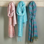 daybreak chevron scarf
