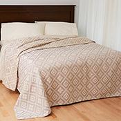 Lavender Diamond Bedcover