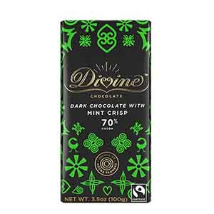 70% Dark Chocolate with Mint Large Bar Case