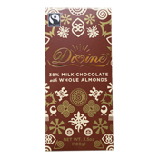 38% Milk Chocolate with Whole Almonds Large Bar Case