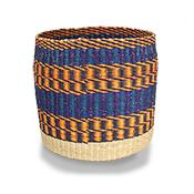 Autumn Stripe Basket