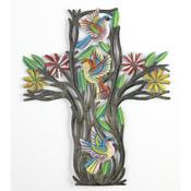 Haitian Floral Cross
