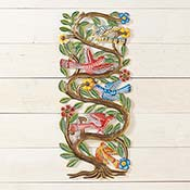 Winding Tree with Birds Wall Art