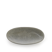 River Stone Medium Oblong Platter