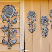 small sunflower wall art