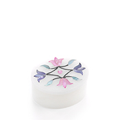 Spring Flowers Inlay Stone Box