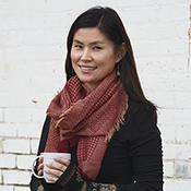 basketweave wool scarf alt