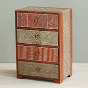 Mahamantra 4-Drawer Chest