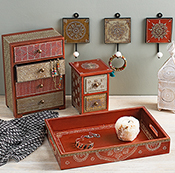 mahamantra 4 drawer chest