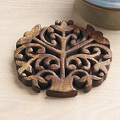 Tulip Tree of Life Trivet