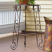 Iron Garden Table