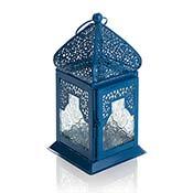 moroccan motif small lantern