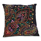 Bright Paisley Pillow