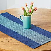 Woven Madur Table Runner