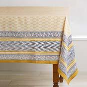 Sunny Sanganer Tablecloth