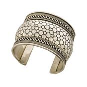 silver padma cuff