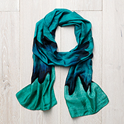 ocean wave scarf