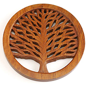 Tree of Life Shesham Trivet