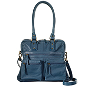 Cerulean Leather Purse