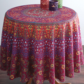 Elephants in the Room Tablecloth