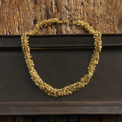 gold cluster necklace2
