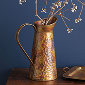 Hammered Ironworks Tall Pitcher