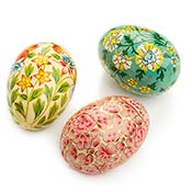 Bright Garden Kashmiri Eggs