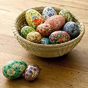 springtime eggs