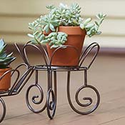 Iron Tall Plant Stand