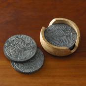 Stone Coasters Set