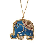 Zari Elephant Ornament