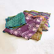 cool kantha bedcover