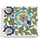 Floral Tile Trivet