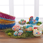 kashmir papier mache eggs