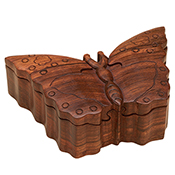 Butterfly Puzzle Box