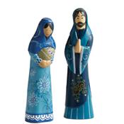 Heavenly Blue Nativity